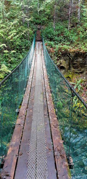 Fossli Trail, short hike, port alberni vancouver island