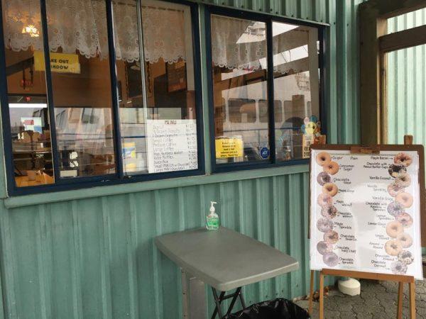 The Donut Shop Port Alberni Take Out Window service