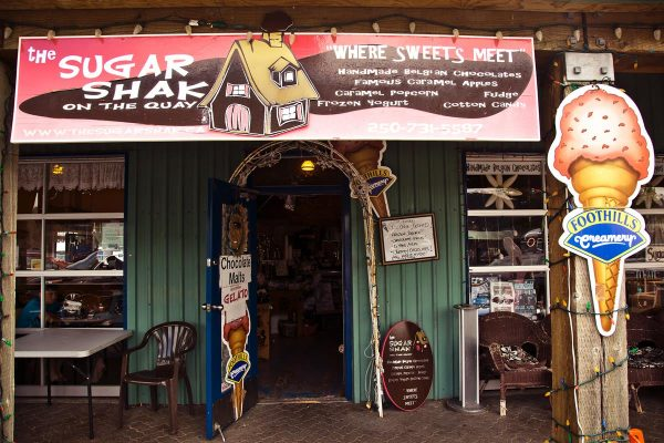 View of the Sugar Shak storefront