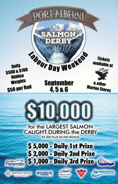 Salmon Derby Port Alberni 2021
